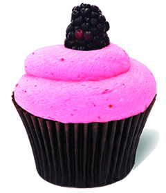 Fresh Blackberry; Sweet Carolina Cupcakes - Hilton Head Island's favorite cupcake bakery; 29928