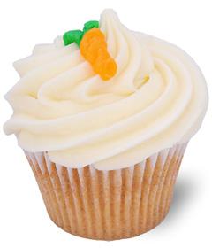 Carrot Cake; Sweet Carolina Cupcakes - Hilton Head Island's best cupcake bakery; 29928