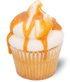 Salted Caramel; Sweet Carolina Cupcakes - Hilton Head Island's favorite cupcake bakery; 29928
