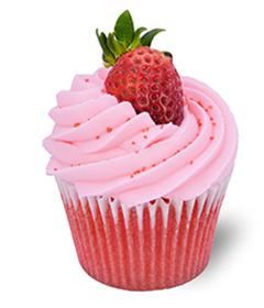 Very Strawberry; Sweet Carolina Cupcakes - Hilton Head Island's best cupcake bakery; 29928