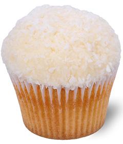 Coconut Snowball Cupcake; Sweet Carolina Cupcakes; Hilton Head Island, SC 29928