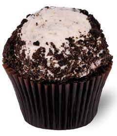 Cookies and Cream Cupcake; Sweet Carolina Cupcakes; Hilton Head Island, SC; 29928