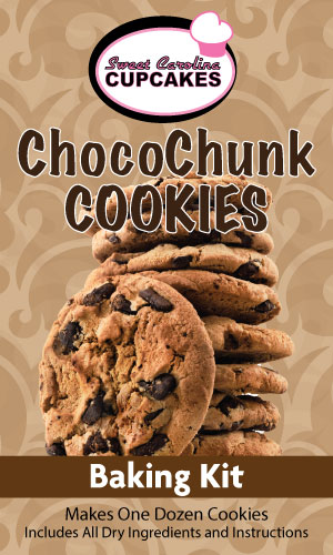 Chocolate Chunk Cookie Baking Kit from Sweet Carolina Cupcakes; Hilton Head Island, SC 29928