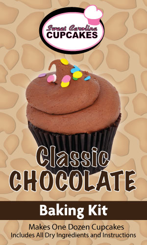 Classic Chocolate Cake Baking Kit from Sweet Carolina Cupcakes; Hilton Head Island, SC 29928