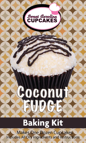 Coconut Fudge Cake Baking Kit from Sweet Carolina Cupcakes; Hilton Head Island, SC 29928