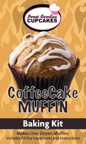Coffee Cake Muffin Baking Kit from Sweet Carolina Cupcakes; Hilton Head Island, SC 29928