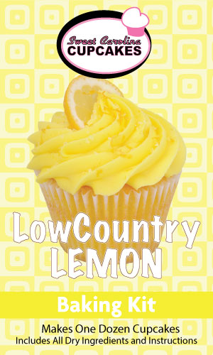 Low Country Lemon Baking Kit from Sweet Carolina Cupcakes; Hilton Head Island, SC 29928