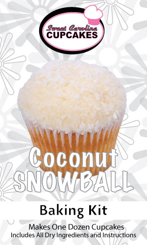 Coconut Snowball Baking Kit from Sweet Carolina Cupcakes; Hilton Head Island, SC 29928
