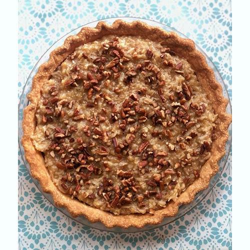 Pre-Order Holiday German Chocolate Pie from Sweet Carolina Cupcakes; Hilton Head Island, SC; 29928