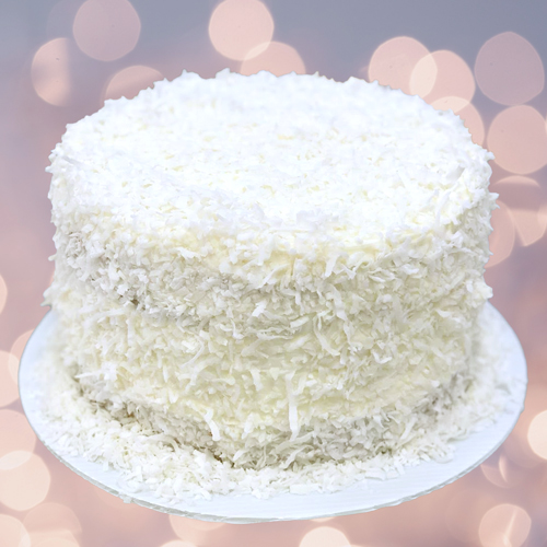 Sweet Carolina Cupcakes' Holiday Coconut Layer Cake is available for pre-order and local delivery - Hilton Head Island, SC 29928