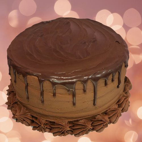 Sweet Carolina Cupcakes' Holiday Chocolate Layer Cake is available for pre-order and local delivery - Hilton Head Island, SC 29928