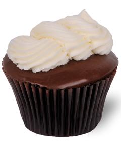 Black and White Cupcake by Sweet Carolina Cupcakes bakery; Hilton Head Island, SC; 29928