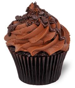 Chocoholic Cupcake from Sweet Carolina Cupcakes; Hilton Head Island, SC 29928