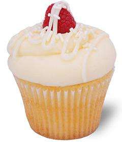 White Chocolate Raspberry Cupcake from Sweet Carolina Cupcakes; Hilton Head Island, SC 29928